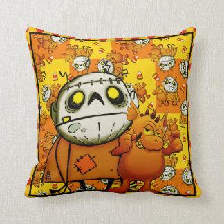 Best Monster Buddies throw pillow