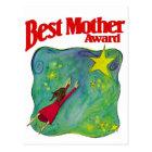 Best Mother Award Gifts Postcard