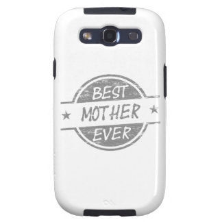Best Mother Ever Gray Samsung Galaxy SIII Cover