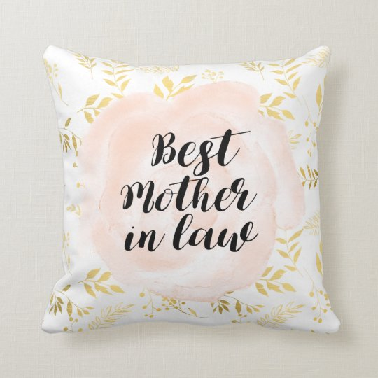 Best Mother in law gift pillow