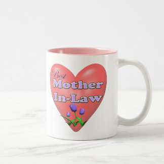 Best Mother-In-Law Mothers Day Gifts Two-Tone Coffee Mug