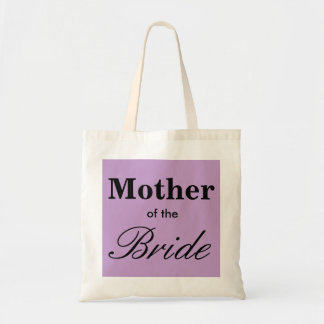 Best Mother of the Bride Tote Purple Lavender