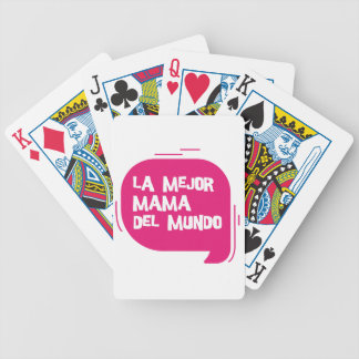 Best Mum Ever Bicycle Playing Cards