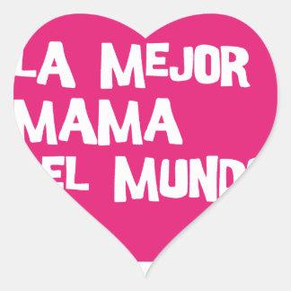 Best Mum Ever Heart Sticker