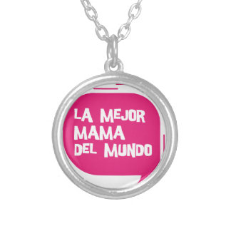 Best Mum Ever Silver Plated Necklace