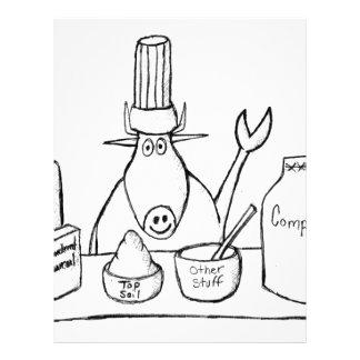 Best Must Read Organic Vegetable Garden Gardening Letterhead