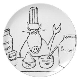 Best Must Read Organic Vegetable Garden Gardening Plate