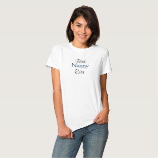Best Nanny Ever T-Shirt Custom Shirt for Grandma