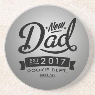 Best New Dad 2017 Beverage Coasters