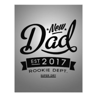 Best New Dad 2017 Customized Letterhead