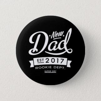 Best New Dad 2017 Dark 2 Inch Round Button