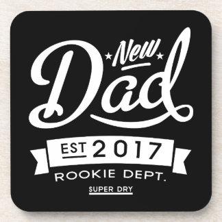 Best New Dad 2017 Dark Coasters