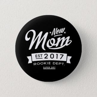 Best New Mom 2017 Dark 2 Inch Round Button