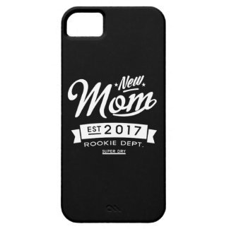 Best New Mom 2017 Dark iPhone 5 Case
