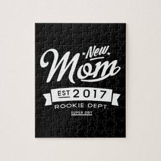 Best New Mom 2017 Dark Jigsaw Puzzle