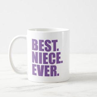 Best. Niece. Ever. (purple) Coffee Mug