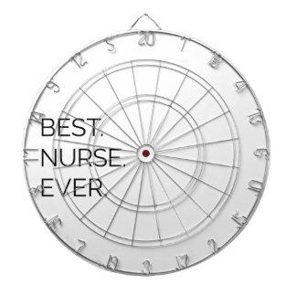 Best. Nurse. Ever. Dartboard