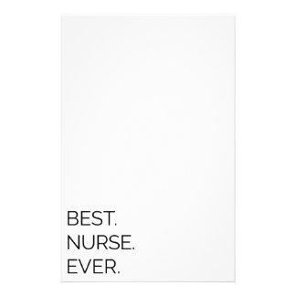 Best. Nurse. Ever. Stationery