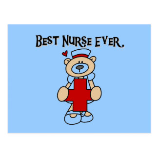 Best Nurse Ever T-shirts and Gifts Postcard
