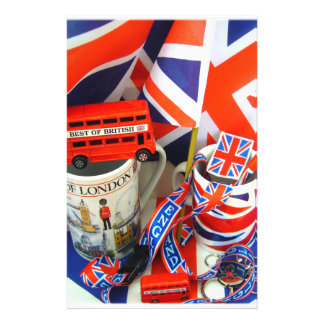 Best of British Souvenirs Stationery Paper