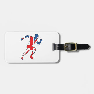 Best of British Sport Athlete Luggage Tag
