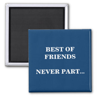 BEST OF FRIENDS SQUARE MAGNET