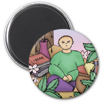 Best of Intentions 2 Inch Round Magnet