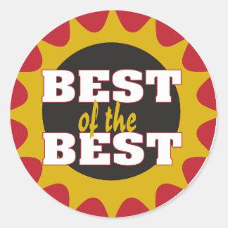 Best of the Best Round Sticker