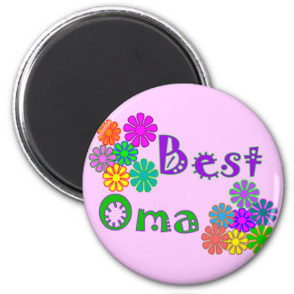 Best Oma  Mother's Day Gifts 2 Inch Round Magnet