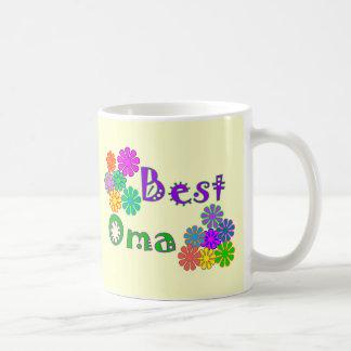 Best Oma  Mother's Day Gifts Basic White Mug