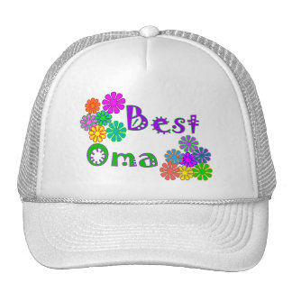 Best Oma  Mother's Day Gifts Trucker Hat