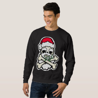 BEST (only) Chrstmas Pirate Skull jumper EVER! Sweatshirt