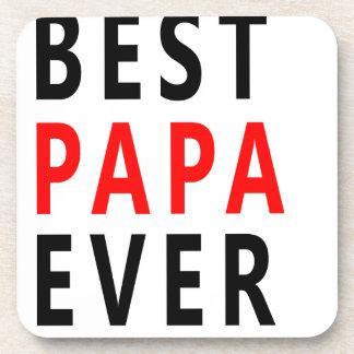 Best Papa Ever Coaster