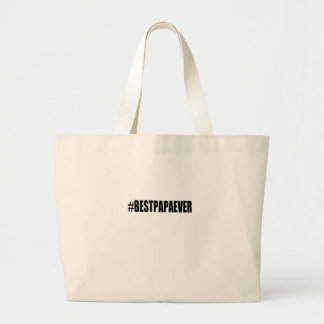 best papa large tote bag