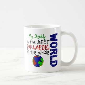 Best Paramedic In World 2 (Daddy) Basic White Mug