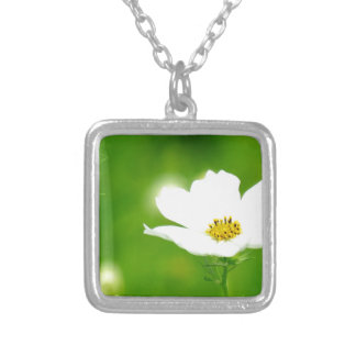 """""""Best photo art popular photographer top design """" Silver Plated Necklace"""
