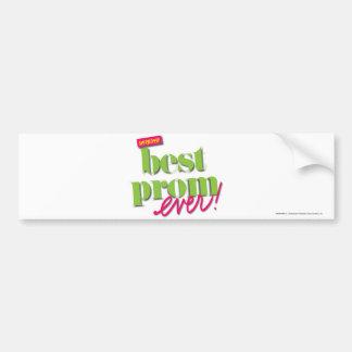 Best Prom Ever - Green Bumper Sticker