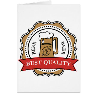 Best Quality Beer Greeting Cards