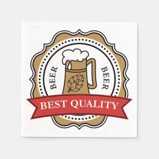 Best Quality Beer Paper Napkins