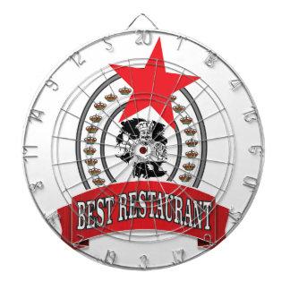 best red restaurant star dartboard
