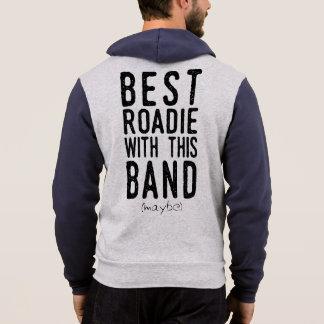 Best Roadie (maybe) (blk) Hoodie