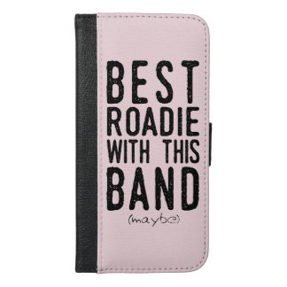 Best Roadie (maybe) (blk) iPhone 6/6s Plus Wallet Case