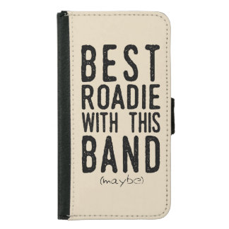 Best Roadie (maybe) (blk) Samsung Galaxy S5 Wallet Case