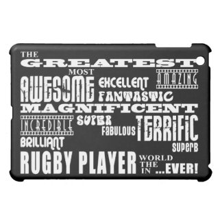 Best Rugby Players Greatest Rugby Player iPad Mini Case