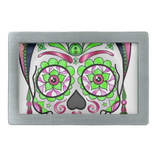 Best Seller Sugar Skull Belt Buckle