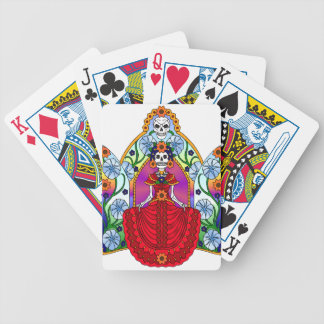 Best Seller Sugar Skull Bicycle Playing Cards