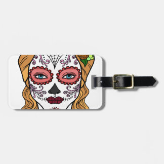 Best Seller Sugar Skull Luggage Tag