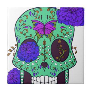 Best Seller Sugar Skull Tile