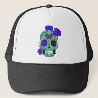 Best Seller Sugar Skull Trucker Hat
