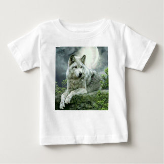Best Selling Imaginative Wolf Art Illustration Pai Baby T-Shirt